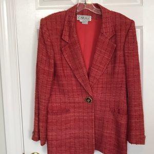 Carlisle spring silk jacket